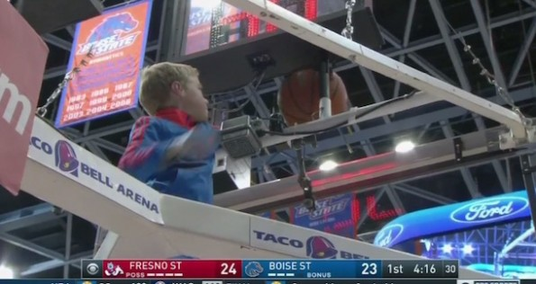 Boise State Kid Gets Ball