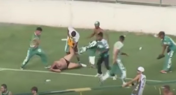 Brazil Soccer Riot