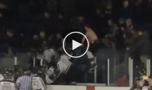 Insane Brawl Between Players & Fans Breaks Out At Junior Hockey Game (Video)
