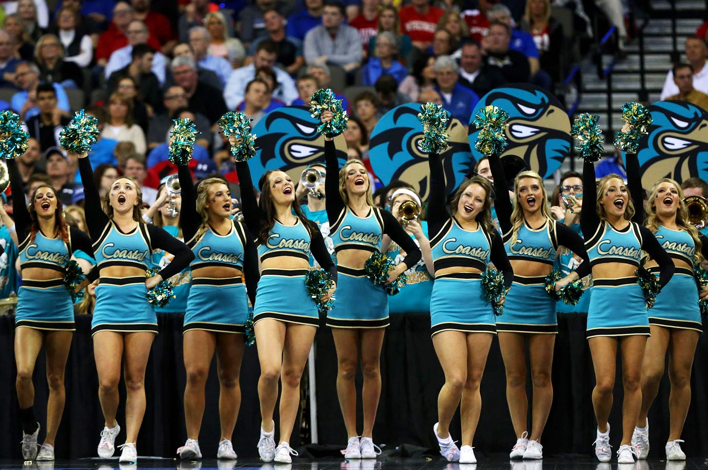 Coastal Carolina University cheerleaders suspended amid prostitution allegation
