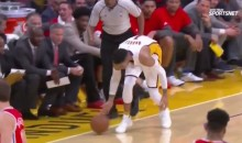 This D'Angelo Russell Blooper Sums Up the Sad State of the LA Lakers (Video)