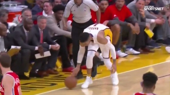 D'Angelo Russell Blooper