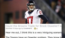 Reddit User Predicted The Osweiler-Browns Trade Almost 3 Weeks Ago