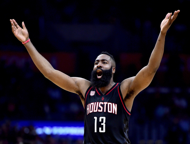Harden Leads Houston Rockets to Win in Final Seconds