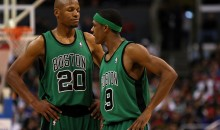 Rajon Rondo Says Ray Allen Not Invited to 10-year Anniversary of '08 Title Because He Left To Join The Miami Heat