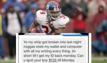 Ex-NFL RB Derrick Ward, Who Made $10M, is Reportedly Scamming Friends Out of Money & Blocking Them Afterwards (PHOTOS)