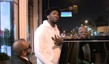 Joel Embiid Continues to Try and Get With Rihanna (Video)