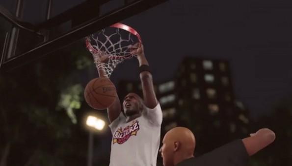 Jordan vs Ball NBA 2K