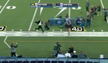 See How Rich Eisen's 40-Yard Dash Compares to John Ross's (Video)
