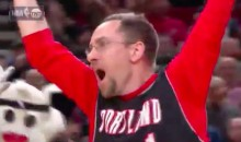 Blazers Fan Hits a Half-Court Shot to Win a Car, and TNT's Kevin Harlan Made the Call (Video)