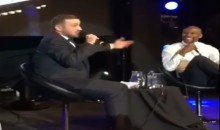 Conor McGregor Impersonator Crashes Floyd Mayweather's Q&A (Video)
