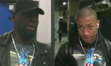 Draymond Green and Isaiah Thomas Commit Fashion Faux Pas, Wear Same Shirt to Their Game (Video)