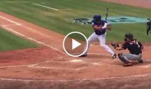 After An 0-8 Start, Tim Tebow Gets His First Hit With The New York Mets (VIDEO)