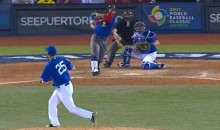Rougned Odor Has Now Taken to Bat Flipping Himself…After a WBC Single (Video)