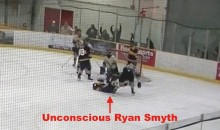 Former Oilers Star Ryan Smyth Knocked Out by Dirty Elbow in Senior AAA Hockey Game (Video)