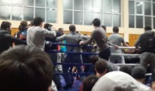 MMA Match in Russian Republic Devolves into Huge, Scary Brawl (Video)