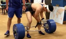 Dodgers Translator Gets Dared by Players to Deadlift 400 Pounds, Does It in Costume (Video)