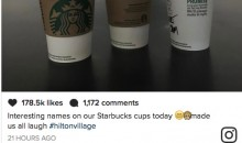 Starbucks Barista Gives Michael Phelps an Awesome Nickname on His Cups (Pic)