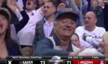 Bill Murray's Son Coaches Xavier, So He Enjoyed Their Win Last Night (Video)