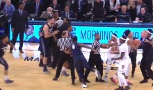 Things Got Heated Between St. John's and Georgetown at Big East Tournament! (Video)