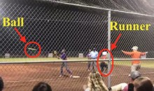 "Softball Player is Safe By a Mile, Umpire Still Calls Her ""Out"" (Video)"