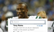 Brandon Marshall's Text Messages Revealed After Signing With New York Giants (PIC)