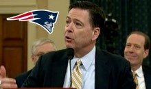 FBI Director James Comey Testifies Under Oath How Much He Hates the Patriots (Video)