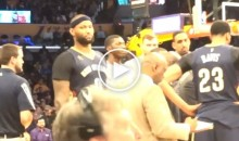 Lakers Fans Heckle DeMarcus Cousins: 'Hey Fat Boy, I Got Some Donuts For You' (Video)
