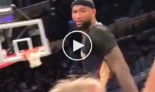 DeMarcus Cousins Tells Heckling Lakers Fans To 'Go Suck A D**k, B**ch' (Video)