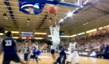 Dunk City! Florida Gulf Coast's Rayjon Tucker Takes Out Shot Clock with Monster Dunk (Video)