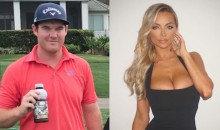 PGA Rookie Grayson Murray Asks IG Model Lindsey Pelas to By His Caddy at Masters Par 3—If He Qualifies (Tweets)
