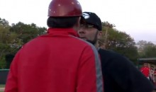 Baseball Coach Threatens To Have His Pitcher Bean an Opposing Player's Head, Argument Ensues (Video)