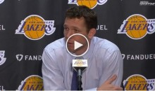 "Luke Walton on Bucks Coaching Staff & Finding Some Goons: ""Don't Touch My Damn Players"" (VIDEO)"