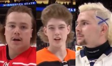 Minnesota High School Hockey Players Have the Greatest Sports Hairdos on the Planet (Video)