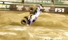 Lee O'Donnell Pulls Off First Ever Monster Truck Front Flip, and It's Ridiculously Awesome (Video)