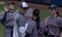 Fight Almost Breaks Out In Handshake Line Following Florida-Auburn Softball Game (Video)