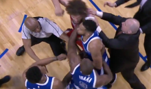 For the 1st Time Since 2006, Punches Were Thrown During an NBA Game (VIDEO)