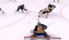 Sidney Crosby Slices Through Sabres Defense and Scores One-Handed Goal, Because He's Sidney Crosby (Video)