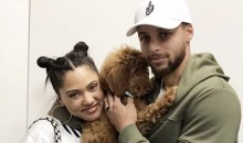 Steph Curry Drops $3800 on Designer Dog (Video)