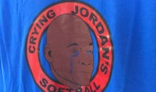 Man Designs 'Crying Jordan' Logo For Softball Team