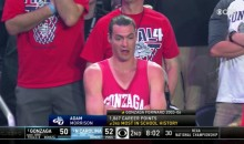 Adam Morrison Attends NCAA Final, Social Media DESTROYS Him (TWEETS)