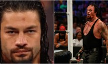 "WWE RAW Crowd Chants ""F*ck You Roman"" After He Retired Undertaker at Wrestlemania (Video)"