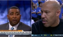 Cris Carter on LaVar Ball: '2 of Those White Guys Had More Points Than Your Son' (VIDEO)