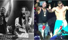 DJ Whoo Kid, Waka Flocka Banned After Taking a Sh*t At Pool on Gronk's Party Boat (Video)