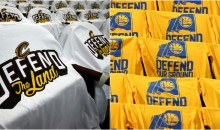 Social Media Roasts The Warriors For Using Slogan Similar To Cavs' 'DEFEND THE LAND' (TWEETS)