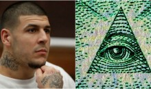 REPORT: Aaron Hernandez Believed in The Illuminati & Had Other Messages Written in Blood Before Suicide (Video)
