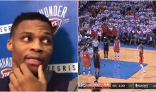 Russell Westbrook: Rockets 'Who Don't Play' Were The Ones Laughing at Andre Roberson FT's (VIDEO)