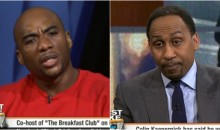 Charlamagne Tha God Confronts Stephen A. Over Dismissing Kaepernick's Views Because He Didn't Vote (VIDEO)