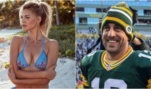 Aaron Rodgers Has Moved on From Olivia Munn to Baywatch Actress Kelly Rohrbach (Pics + Vid)