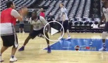 Romo Knocking Down Jumpers at Mavs Practice (Video)